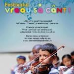 """Festivalul  """"Vreau sa cânt""""  în  zona Olteniei"""