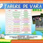 Calendar Tabere 2014
